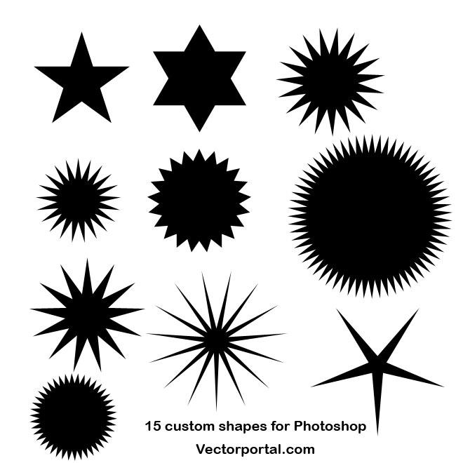 660x660 Photoshop Dots Custom Shapes