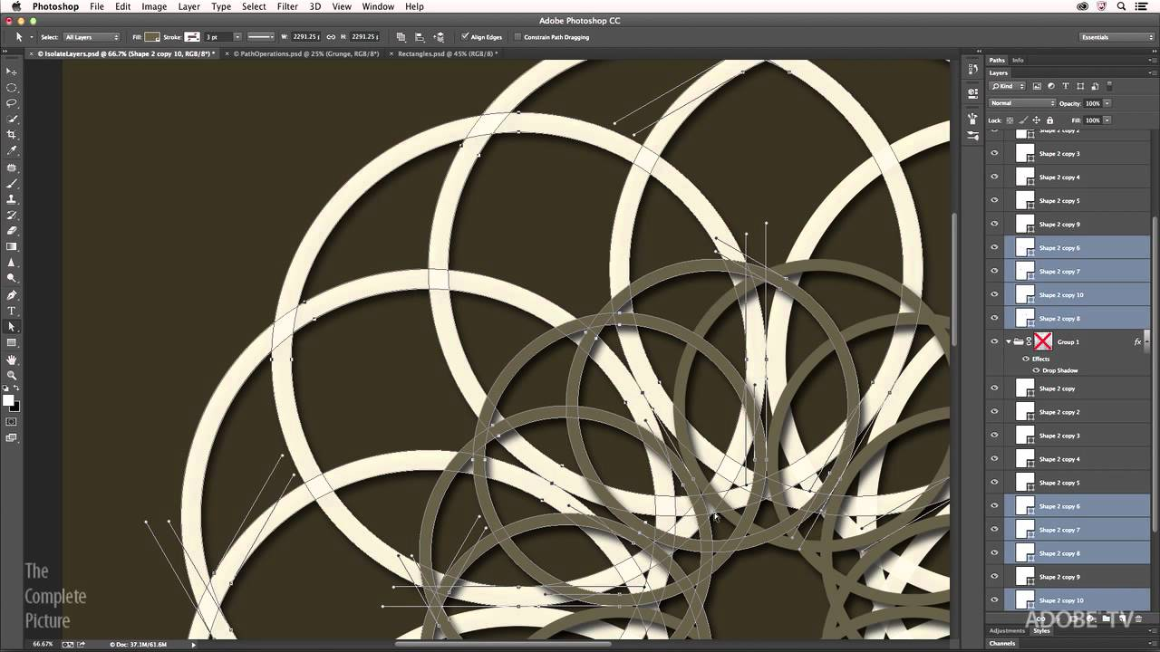 1280x720 Tips For Working With Vectors In Photoshop Cc