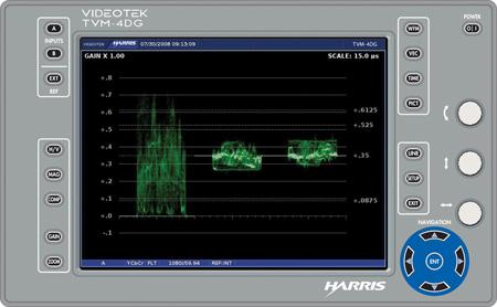 450x278 Imagine Tvm 4dg Multiformat Hdsd Sdi Waveform Monitorvectorscope