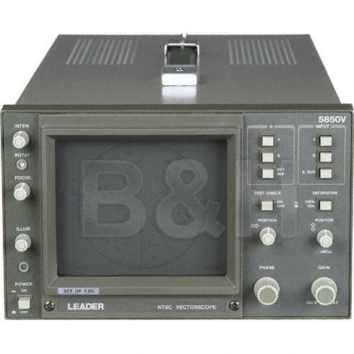 500x500 Leader 5850v Ntsc Vectorscope, Composite 5850v Bamph Photo Video