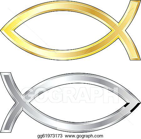 450x442 Gold Fish Christian Clip Art 1 Vector Site O Symbol Template