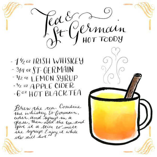 600x600 Drink Recipe Card Clip Art 1 Vector Site O Happy Hour Tea St Hot