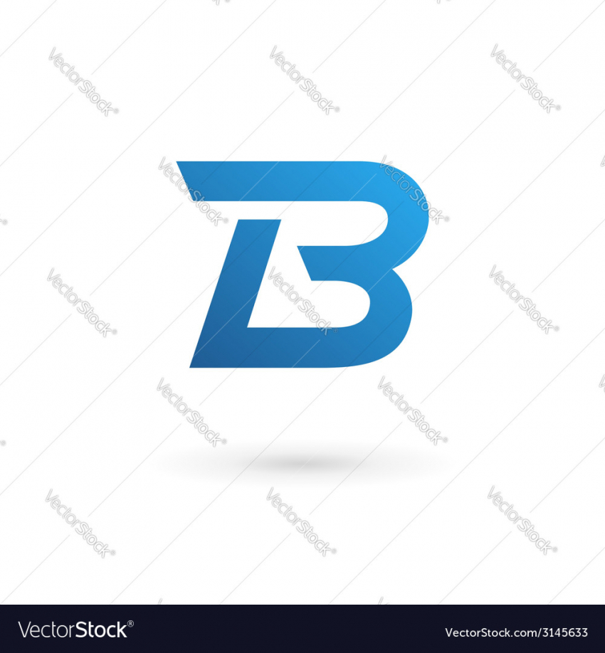 850x918 Letter B Logos Picture Of Letter B Logo Icon Royalty Free Vector
