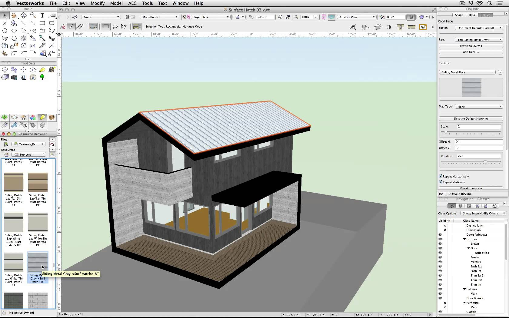 1680x1050 Surface Hatches In Vectorworks 2015