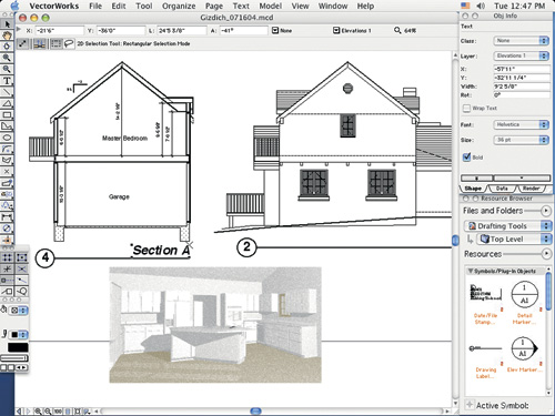 500x375 Vectorworks Improves Leopard Support Macworld