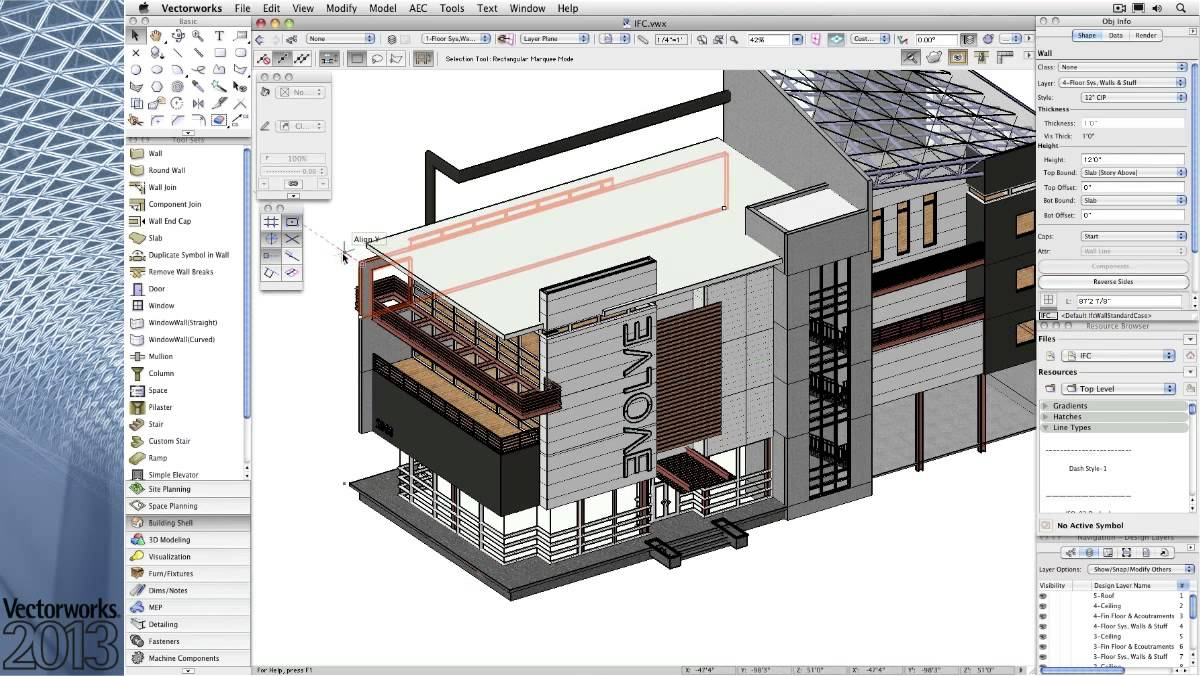 1200x676 Vectorworks Architect 2013.mov