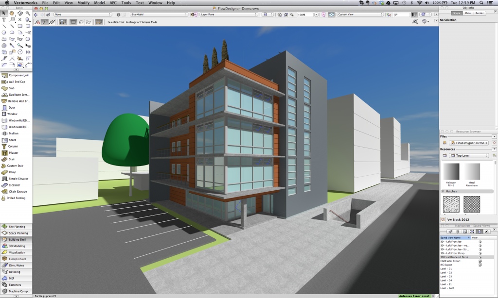 1024x614 Vectorworks And Flowdesigner Open Bim Collaboration With Airflow
