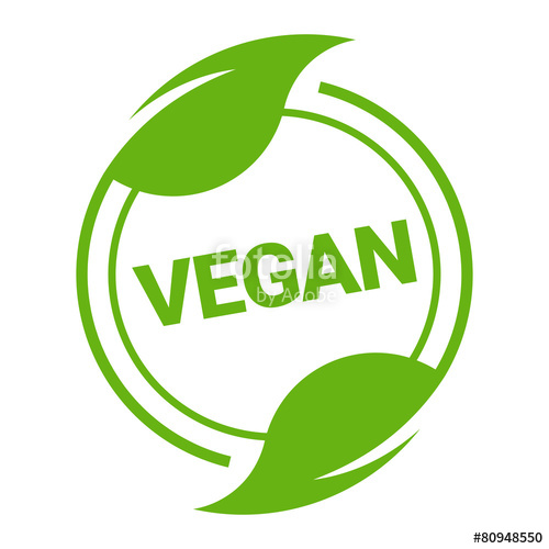 500x500 Icon Button Bio Vegan Vegetarisch Stock Image And Royalty Free