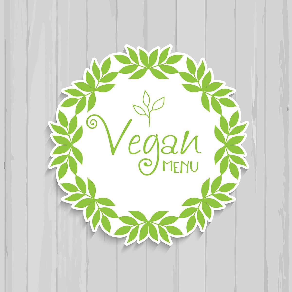 1200x1200 Vegan Free Vector Art