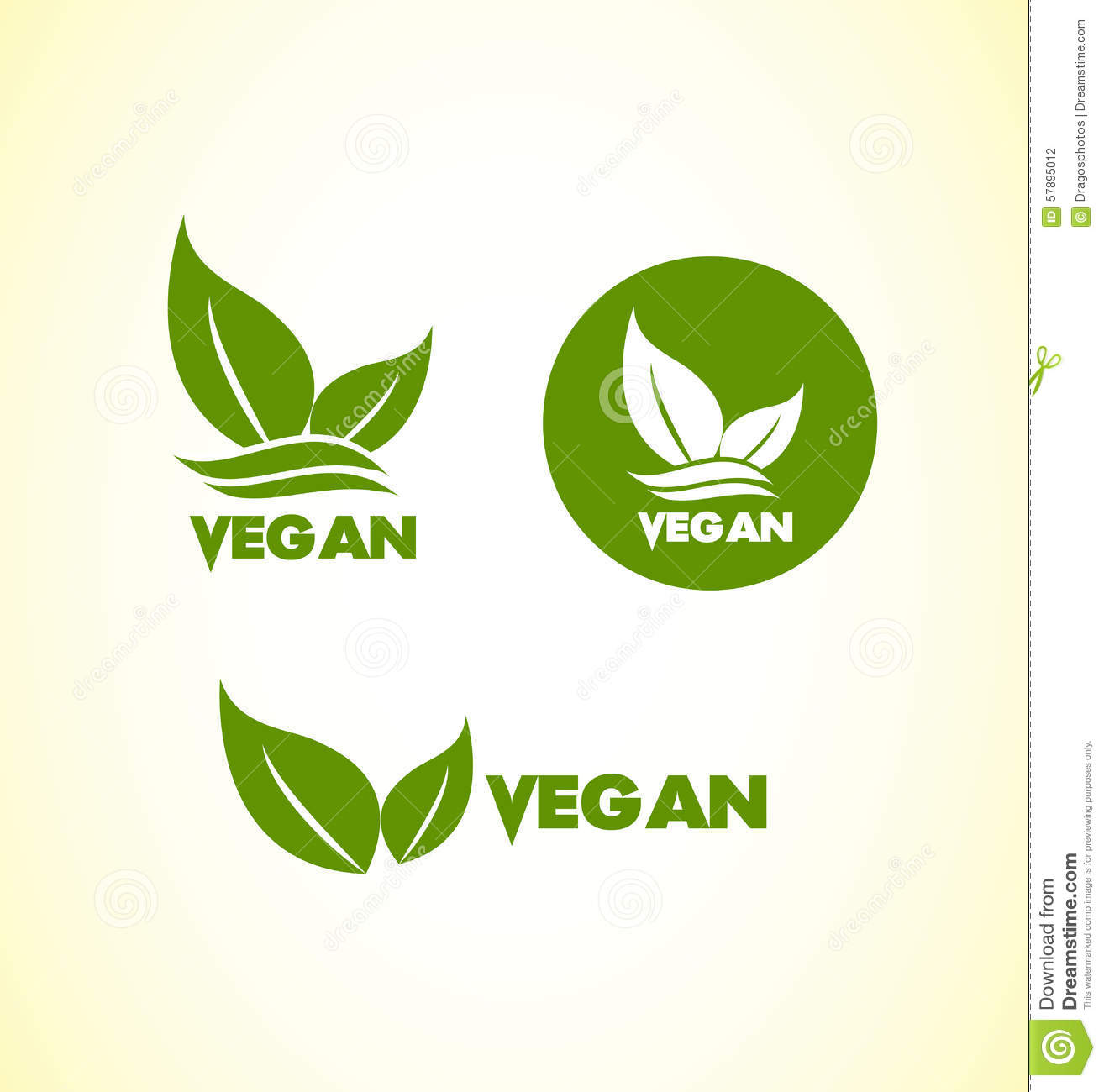 1314x1300 Vegan Logos
