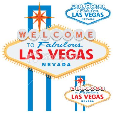 380x380 Welcome To Fabulous Las Vegas Sign Isolated On A White Background