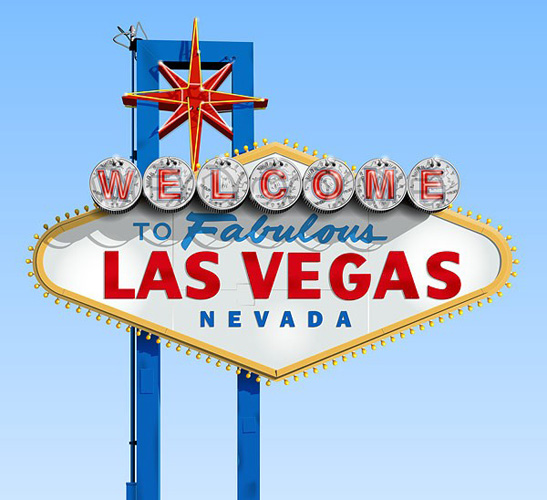 547x500 Images And Places, Pictures And Info Las Vegas Sign Vector