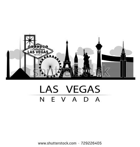 Vegas Skyline Vector