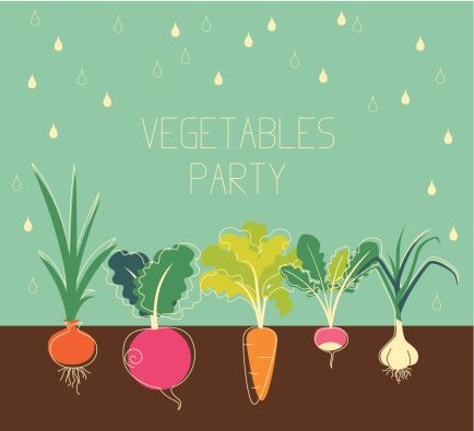 434x395 Vegetables Garden Vector Art 187943501 Thinkstock Projects
