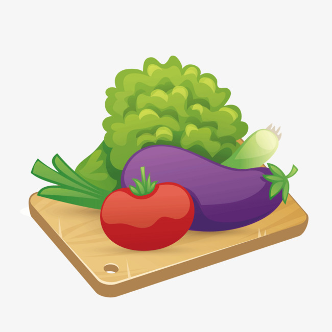 650x651 Vegetables Vector Text Panel, Chopping Board, Vegetables, Vector