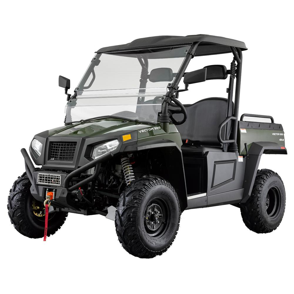 1000x1000 Vector 500 4wd 500cc Utility Vehicle Hdvector500gre