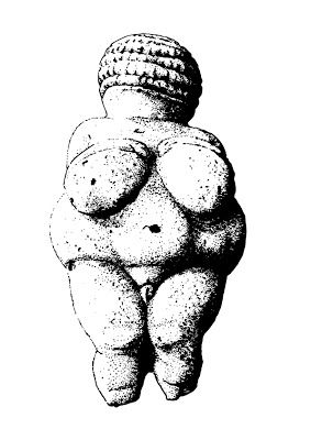283x400 Vector Engraving The Venus Of Willendorf Tshirts