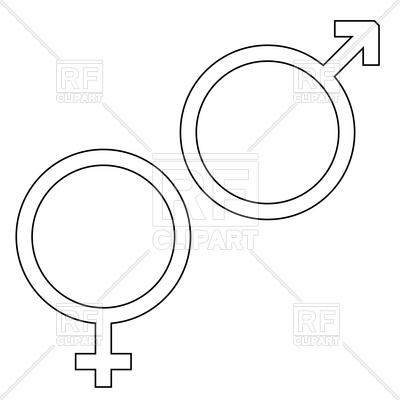 400x400 Male Or Female Icon