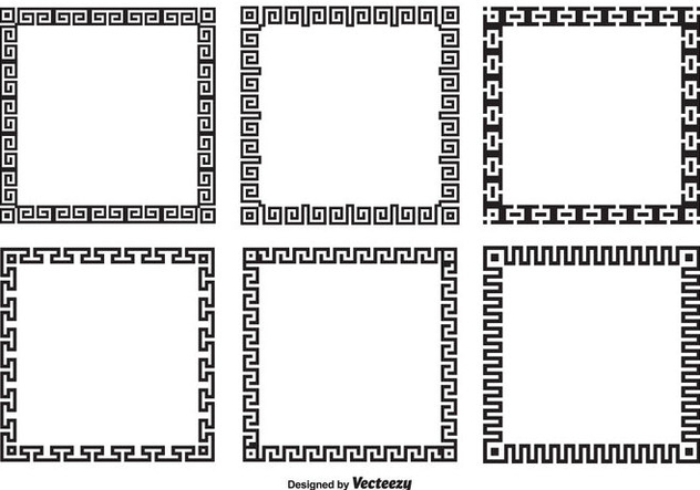632x443 Greek Key Border Style Frames Free Vector Download 344879 Cannypic