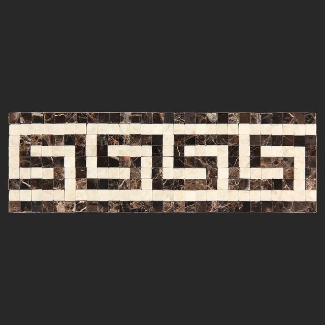 640x640 Greek Key Wallpaper Border