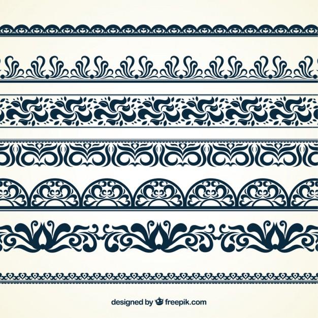 626x626 Ornamental Borders Vector Free Download