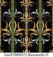 Versace Pattern Vector