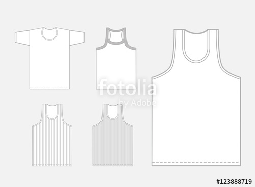 500x367 Vest Vector Set Stock Image And Royalty Free Vector Files On