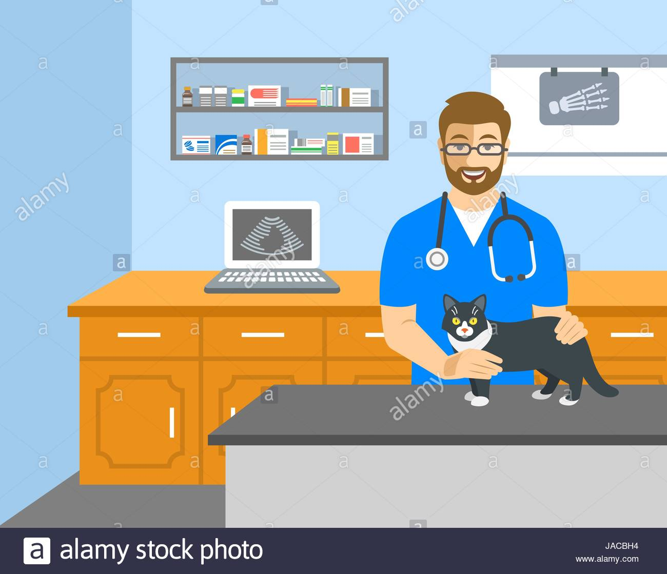 The Best Free Veterinarian Vector Images Download From 21