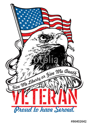 354x500 Veteran Eagle Stock Image And Royalty Free Vector Files On