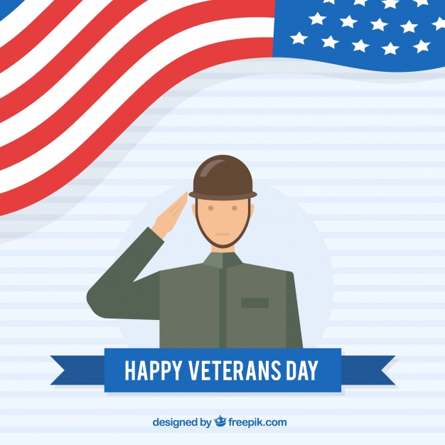 626x626 Flat Veterans Day Design Vector Free Download