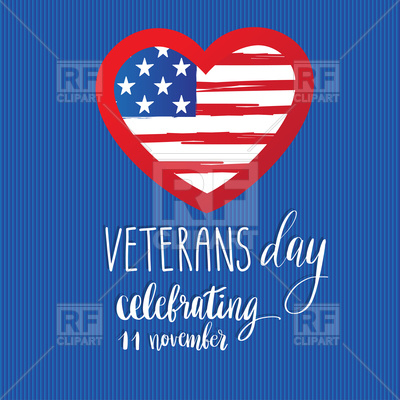 400x400 Happy Veterans Day Card Vector Image Vector Artwork Of Holiday