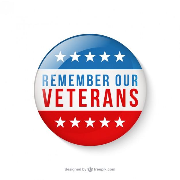 626x626 Veterans Day Badges Vector Free Download