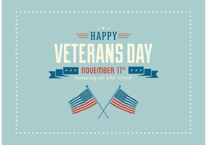 700x490 Free Happy Veterans Day Vector Wallpaper