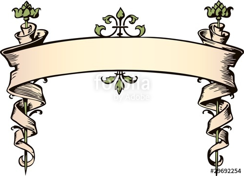 500x361 Victorian Banner Stock Image And Royalty Free Vector Files On
