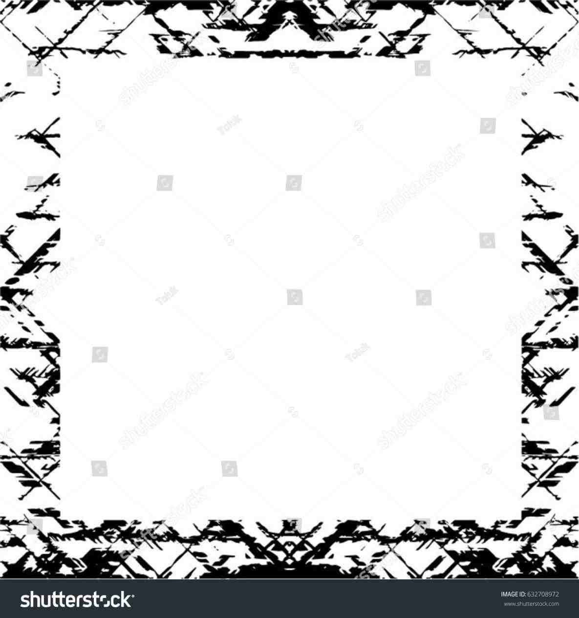 1185x1264 Free Rustic Border Vector Clipart Victorian Border Of Twigs And