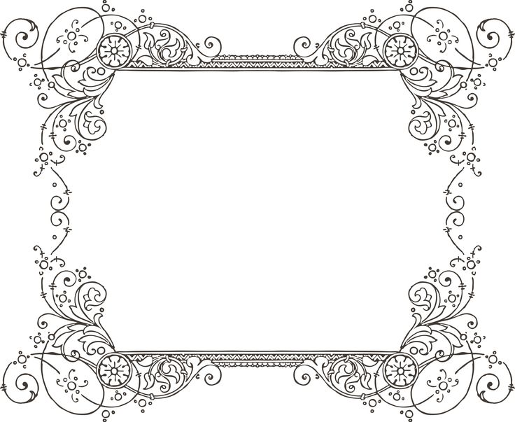 736x603 Decorative Backgrounds For Word Documents More Free Clipart
