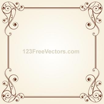 340x340 Victorian Border Vectors Download Free Vector Art Amp Graphics