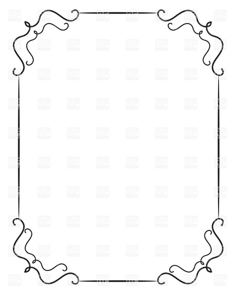 960x1200 Clip Art Borders And Frames Free Download Inspirational 50