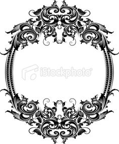 236x286 Victorian Frame Borders Victorian Frame, Vector