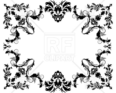400x320 Victorian Frame Vector Image Vector Artwork Of Borders And