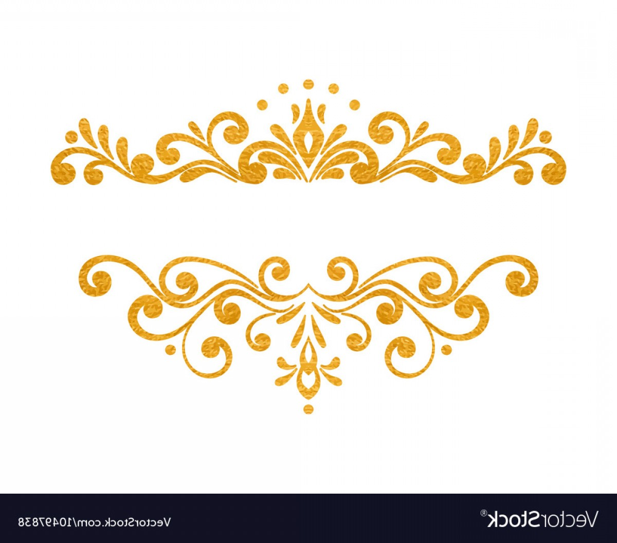 1200x1056 Elegant Luxury Vintage Gold Floral Border Vector Lazttweet