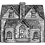 150x150 Victorian House Vector Art Public Domain Vectors
