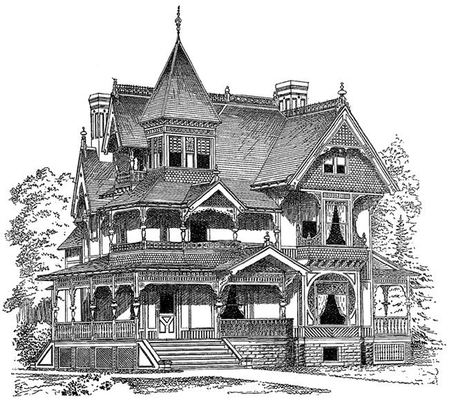 650x582 Victorian House Clip Art Clipart Collection