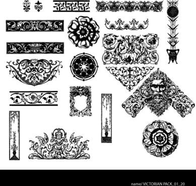 389x368 Victorian Ornaments Vector Free Vector Download (10,210 Free