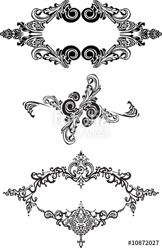 328x500 Victorian Ornaments. Stock Image And Royalty Free Vector Files On