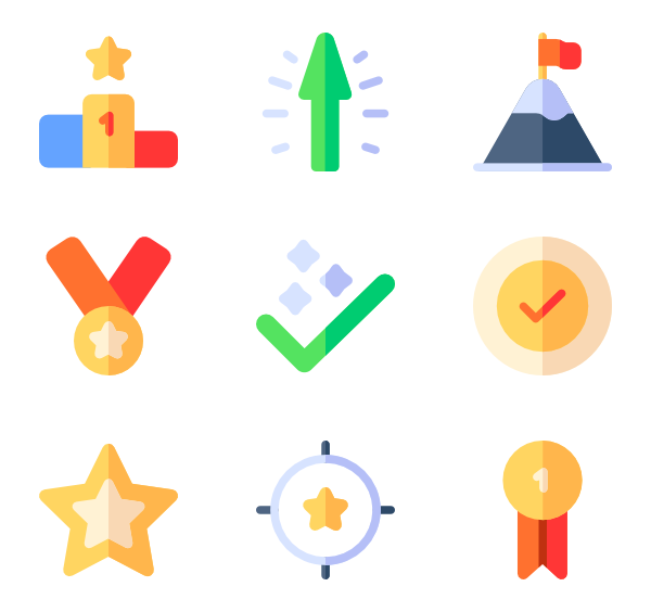 600x564 Victory Icons
