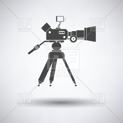 400x400 Movie Camera Icon Vector Image Vector Artwork Of Icons And