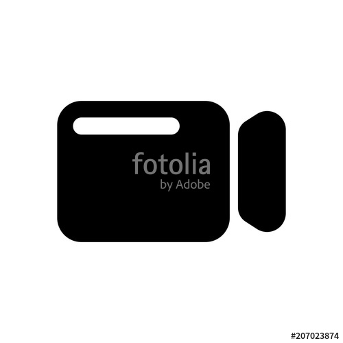 500x500 Simple Video Camera Icon Stock Image And Royalty Free Vector