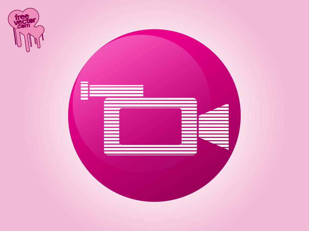1024x765 Video Camera Icon Vector Art Amp Graphics