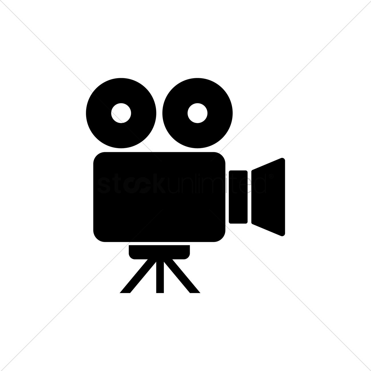 1300x1300 Video Camera Icon Vector Image